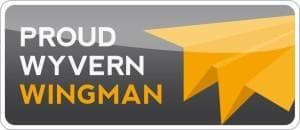 The Wyvern Wingman Seal for private jet safety excellence.