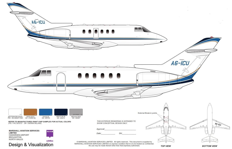 2001 Hawker 800XP : Jet Linx