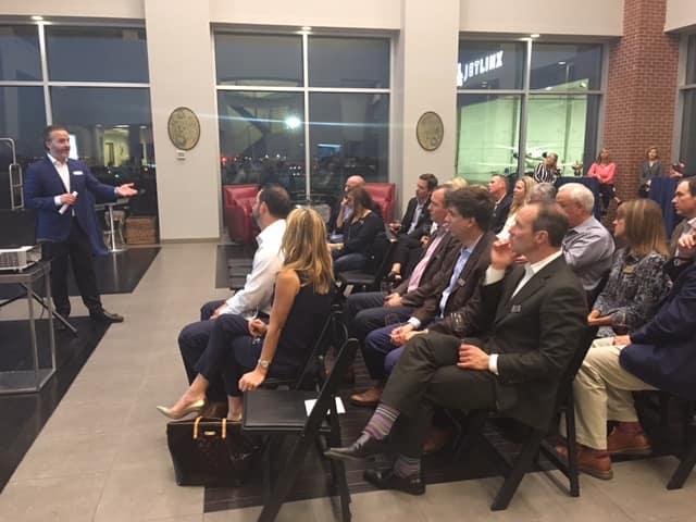 Jet Linx Tulsa Hosts Private YPO Event