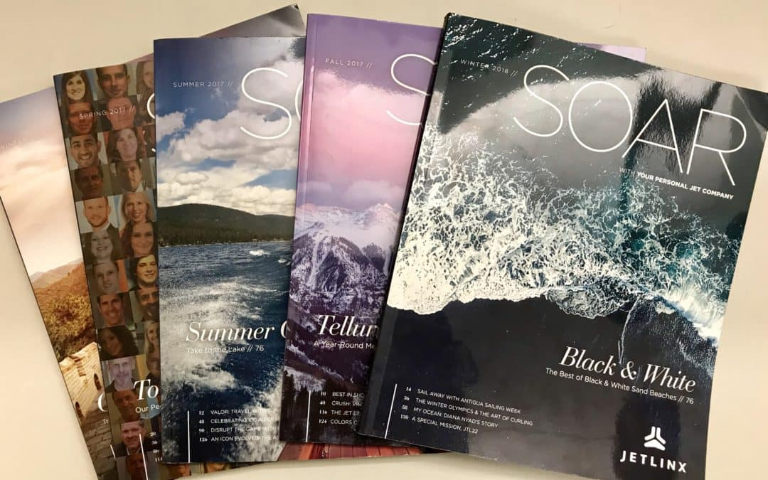 HSMAI Honors Jet Linx SOAR Magazine with Gold Adrian Award