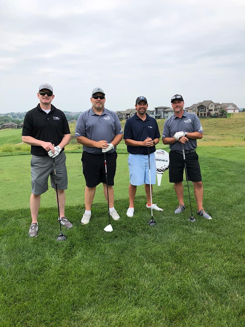 Chris Malone (Rockwell Collins), Jason Vanis (Jet Linx), Jeff Brooks (Rockwell Collins), Jay Vidlak (Jet Linx)