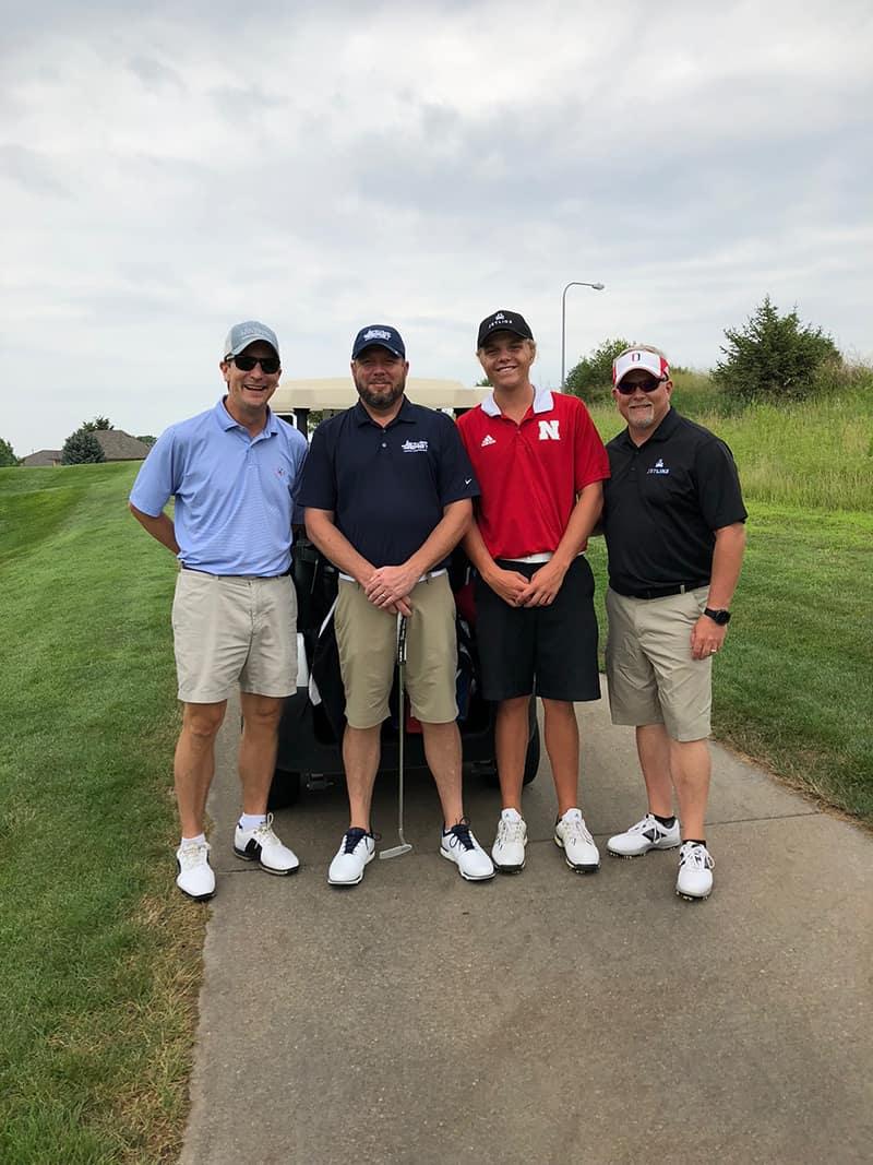 Matt Kinney (Georgia Jet), Mike Hamilton (Jet East Aviation), Jason Bennett, Ray Bennett (Jet Linx)