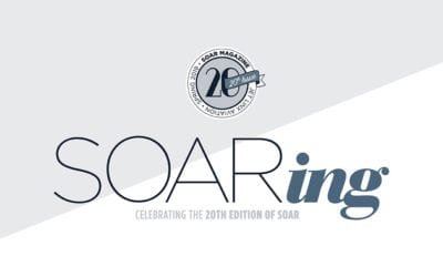 Celebrating the 20th Edition of SOAR Magazine