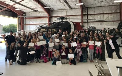 Jet Linx Empowers Future Female Aviators on Girls in Aviation Day