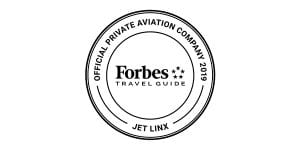 Jet Linx is the offical private aviation company of Forbes Travel Guide.
