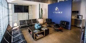 The member lounge at Jet Linx Scottsdale offers a place to relax and refresh.