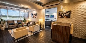 The expanded private terminal for Jet Linx Washington D.C.