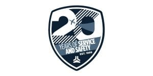 Jet Linx 20 Years of Service and Safety commemorative logo.
