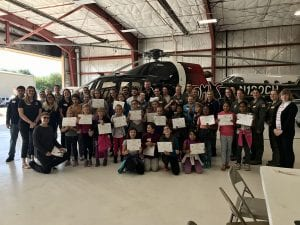 Future female pilots and aviators gather for Girls in Aviation Day.