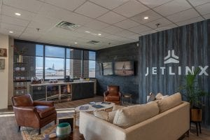 jet linx nashville private terminal interior lounge