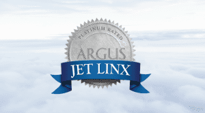 argus platinum rated seal for jet linx over clouds
