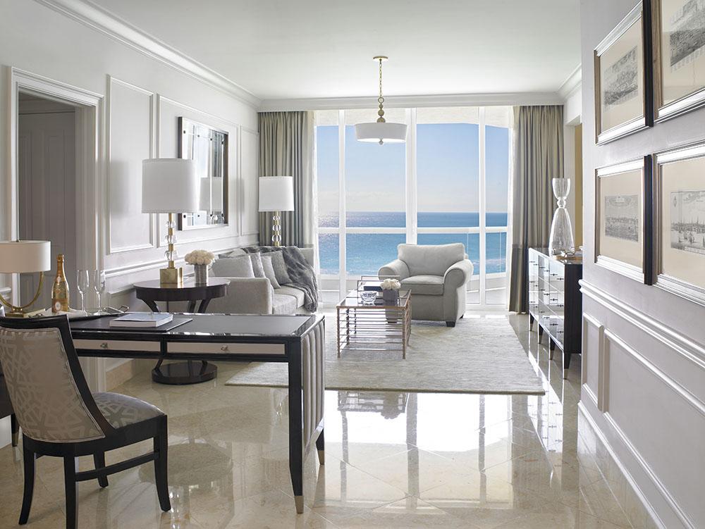 Deluxe One Bedroom Oceanfront Suite - Acqualina Resort