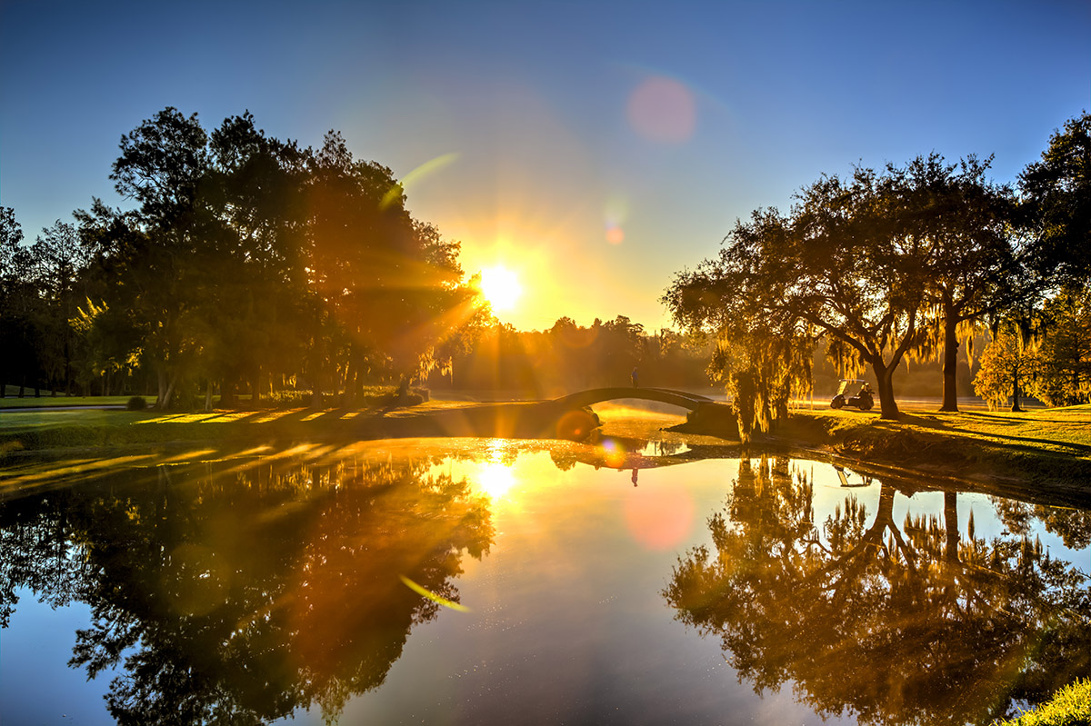 Innisbrook - Golf Course - Morning Bridge