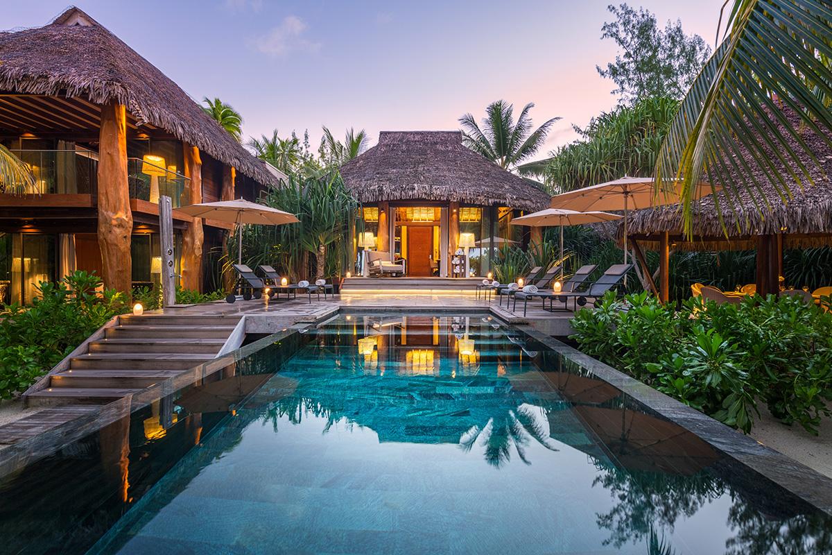 3-Bedroom Villa - Exterior Sunrise 02 - Julie Loyon