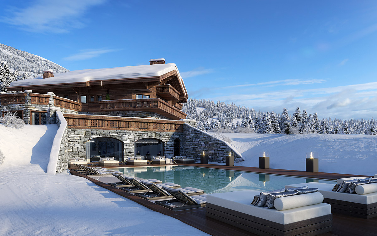 Ultima Crans-Montana Chalets, Spa _ Clinic Exterior View 3 - Lucy violin