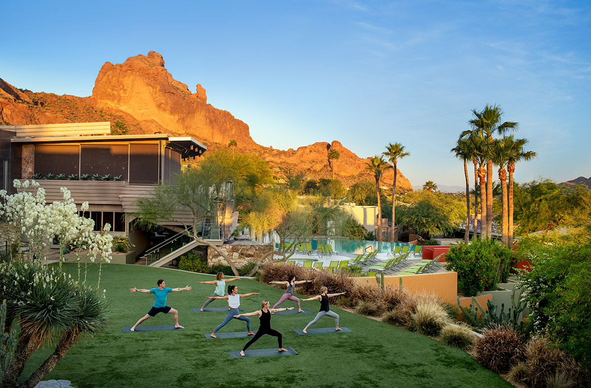 Sunrise Yoga Class - Alison Bontrager