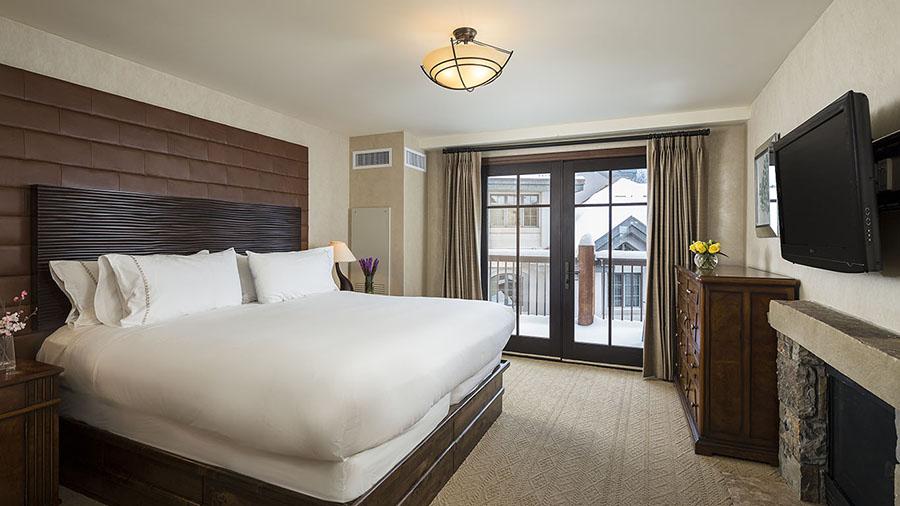 Room 520, Madeline Hotel, Mountain Village, Telluride, CO.