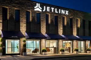 jet linx new york exterior at night